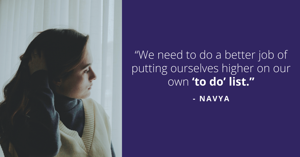 Navya was no stranger to this imbalance. After her promotion, she started facing some challenges with her career and personal life.