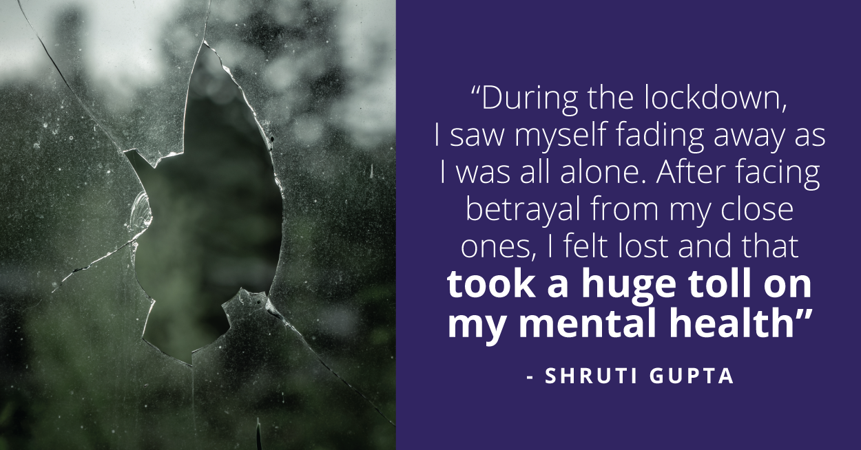 From Holding Emotions In to Letting Out, Shruti Has Come a Long Way